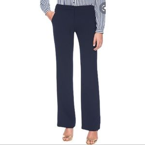 Karl Lagerfeld Classic trousers navy wide leg